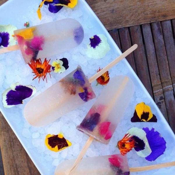 花のアイス